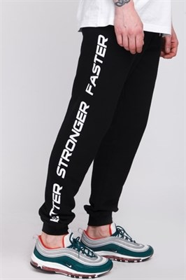 Брюки TRUESPIN Slogan Pants Deep Black