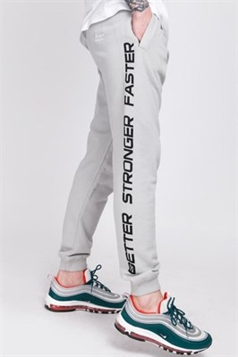 Брюки TRUESPIN Slogan Pants Grey Violet