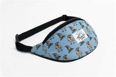 Travel поясная сумка dino 2 blue