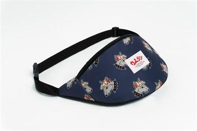 Oldy поясная сумка pitbul navy