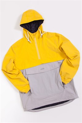 Анорак SKILLS Colorblock Yellow/Grey