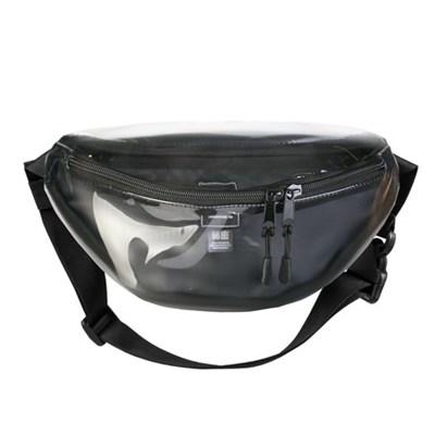 Поясная сумка BLOCK Прозрачная ПВХ