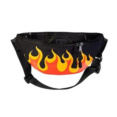 Поясная сумка BLOCK-P Пламя жел.