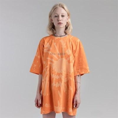 Футболка СЕВЕР tie-dye RELOADED оранжевая