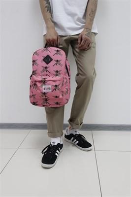 Рюкзак Travel Mask And Gun pink