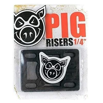 "Подкладка (комплект) Pig Piles 1/4"" Hard Risers Black"