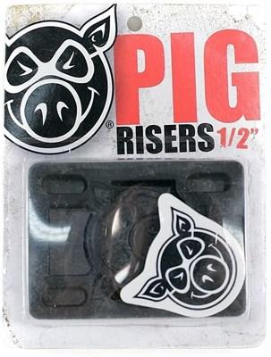 "Подкладка (комплект) Pig Piles 1/2"" Hard Risers Black"