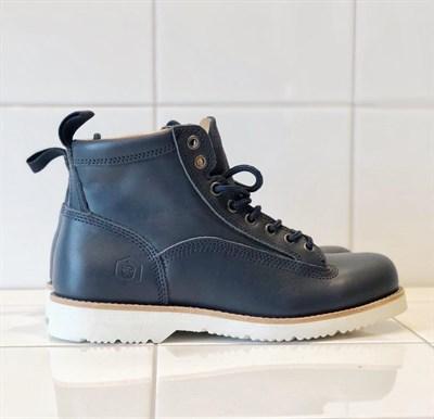 Ботинки Jack Porter Tw9836-LK Кожа,цвет темно синий