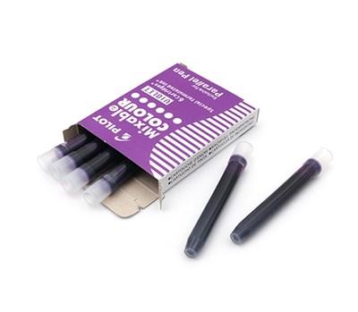 PIlot картридж для ручки уп. из 6шт фиолетовые