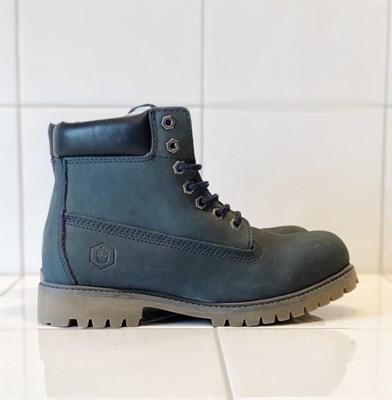 Ботинки Jack Porter TW2701-NW-W Нубук, синий рант темный 50%шерсть