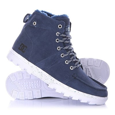 Обувь DC Woodland M Boot blue
