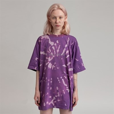 Футболка СЕВЕР tie-dye RELOADED фиолетовый