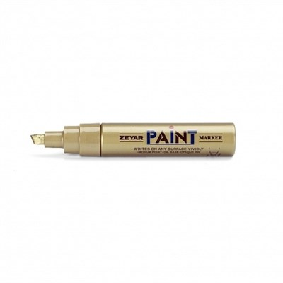 Zeyar Paint Маркер 8,5 мм зеленый скошенное перо
