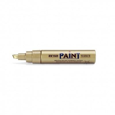Zeyar Paint Маркер 8,5 мм золото скошенное перо