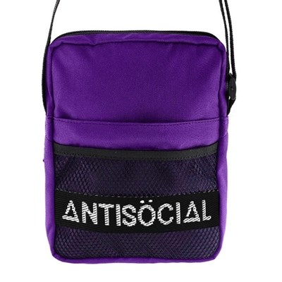 Сумка Anti Social Messenger Bag Purple
