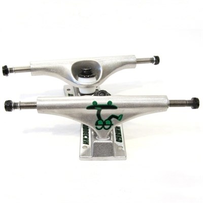 Подвески OG Silver\Green 5.5