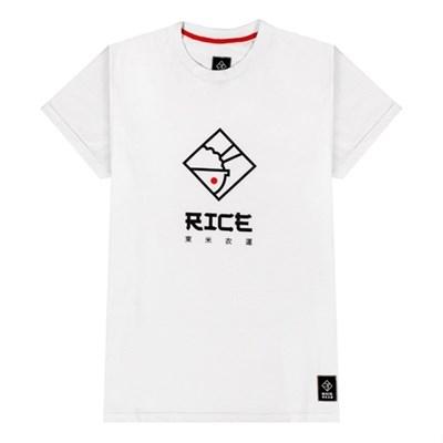Rice Футболка Япония лого белая