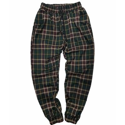 БИЧ Клетчатые штаны green/red