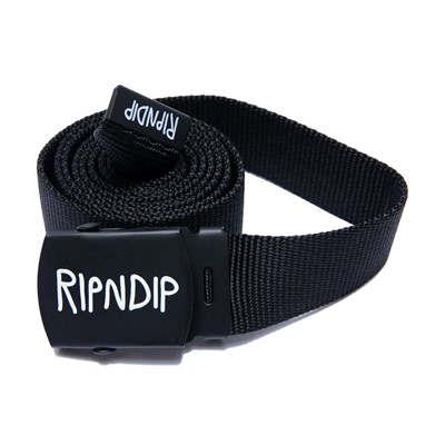 RIPNDIP Ремень Logo Web Belt Black