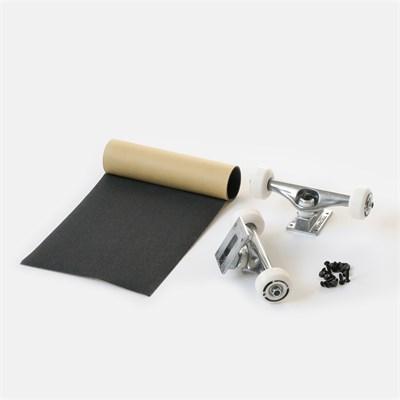 Набор для сборки Комплита RAW (подвески и колеса в сборе+комлект винтов+наждак в рулонах) (ширина: 5,5'')