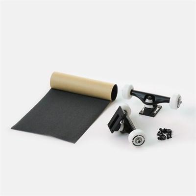 Набор для сборки Комплита - BLACK (подвески и колеса в сборе+комлект винтов+наждак в рулонах) (ширина: 5,5'')
