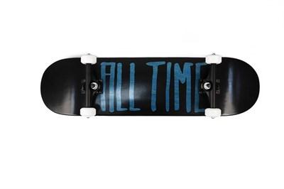 Скейтборд в сборе ALL TIME 2 tone BLUE 8.25 X 31.875