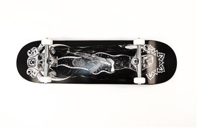 "Скейтборд в сборе Юнион ""unholy"", размер 8,7x32,3, конкейв medium (8,7)"