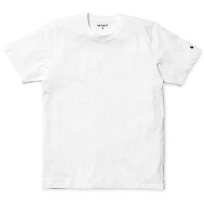 Carhartt WIP футболка S/S Base T-Shirt BLACK / WHITE