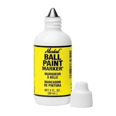 Маркер MARKAL Ball Paint желтый 60мл.