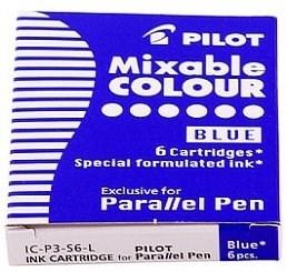 PIlot картридж для ручки уп. из 6шт синие