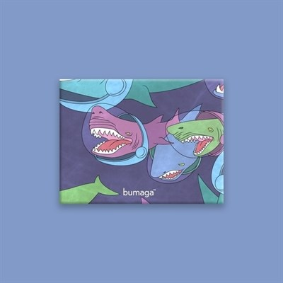 Кошелек BUMAGA Space shark