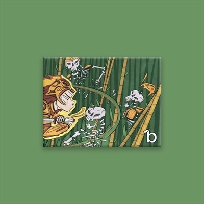 Кошелек BUMAGA Green samurai