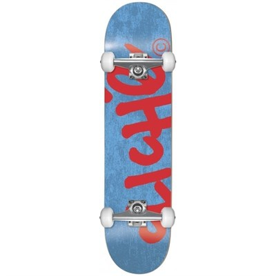 Скейт в сборе Cliche Handwritten Yth FP  Blue/Red 7.375