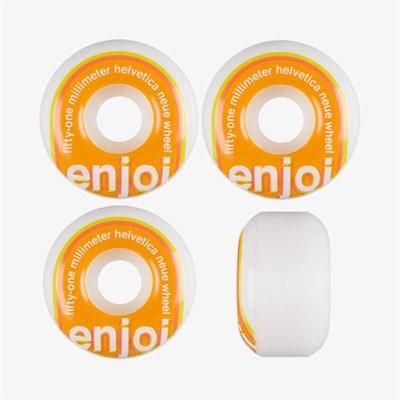 Колеса (к-т) Enjoi  Helvetica Neue Wheels Orange 51mm