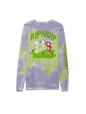 Лонгслив RIPNDIP Sharing Is Caring LS Neon / Lavender Dye