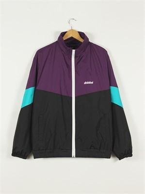 Мастерка Dislabel в стиле ретро фиолетовый верх