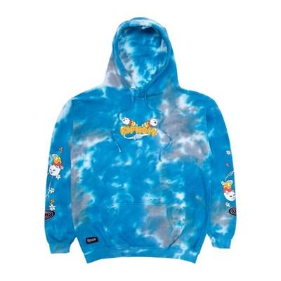Толстовка RIPNDIP Space Gravy Hoodie Baby Blue Cloud Wash