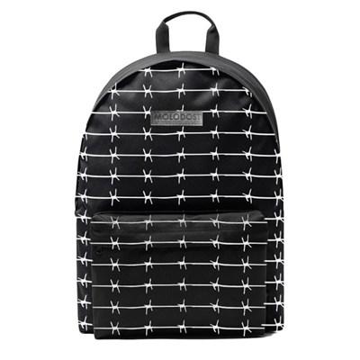 Рюкзак Молодость Черный с проволокой полностью