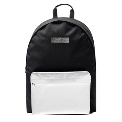Рюкзак Молодость Черно-белый