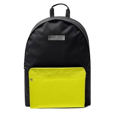 Рюкзак Молодость Черно-желтый