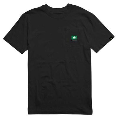 Футболка Emerica Combo Pocket Ss Tee - black