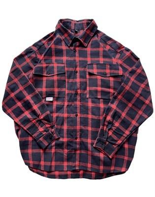 Рубашка БИЧ красно-черный