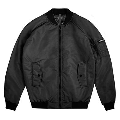 Куртка ANTISOCIAL Bomber черная