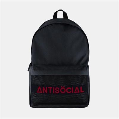 Рюкзак ANTISOCIAL (BLACK-RED)