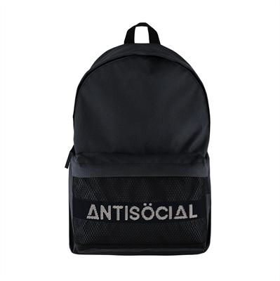 Рюкзак ANTISOCIAL (BLACK-WHITE)