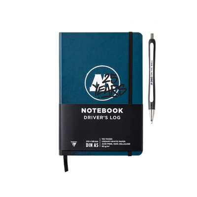 Molotow Notebook Driver's Logo 25 Years 801213 + ручка в подарок