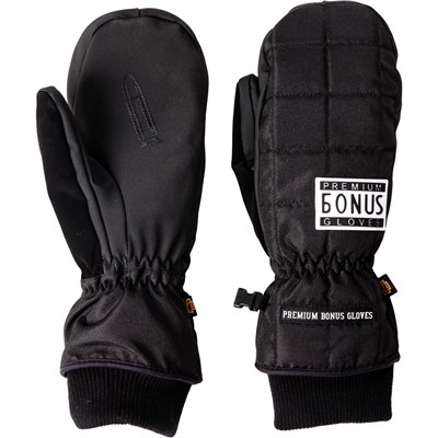 Варежки BonesGloves BLANK BLACK