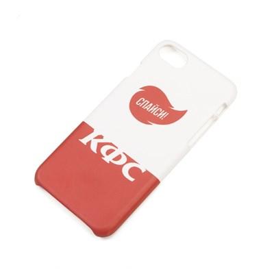 Юность Чехол для iPhone КФС х Ю. «Спайси» (Белый, Пластик, 7/8) (арт. YCC0394.003.2326)